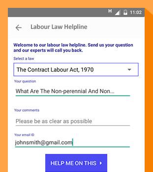 Labour law helpline